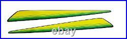 New Lower & Upper Hood / LH&RH Stickers Fits John Deere GX335 GX325