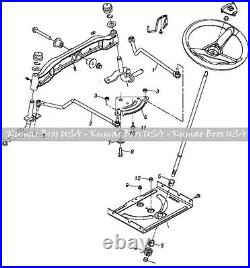 New Steering Kit Fits John Deere Tractor D100 D105 D110 D120 D125 D130 D140