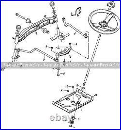 New Steering Kit fits John Deere Tractor LA140 LA145 LA150 LA155 LA165 LA175
