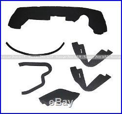 New Upper Hood/ Fuel Door Kit/ Cowl Set/ Mounting Seal Kit fits John Deere 4300