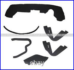 New Upper Hood/ Fuel Door Kit/ Mounting Seal Kit fits John Deere 4200 4300 4400