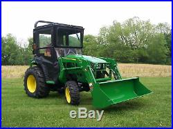 Original Tractor Cab Hard Top Cab Enclosure Fits John Deere 3025E, 3032E, 3038E