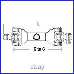 PTO Shaft fits John Deere Bush Hog Rotary Cutter Ser 5 Slip Clutch Driveline