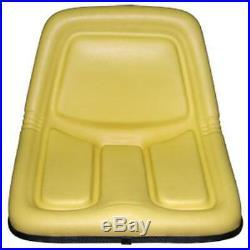 Plastic Pan Yellow Seat Replacement Fits John Deere Tractors Fits JD 318 322 330