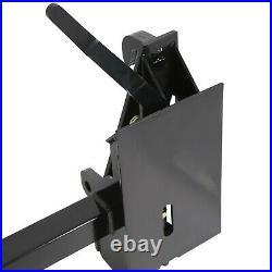 Quick Tach Adapter Fits Global John Deere To Skid Steer Adapter