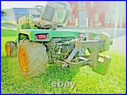 RUEGG CAT 0 Drawbar with Additional Rear Weight Bar fits John Deere 318 425 455