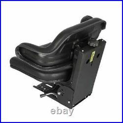Seat Assembly Grammer Style Vinyl Black fits Massey Ferguson fits John Deere