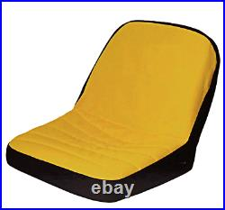 Seat Cover (MEDIUM) LP92324 Fits John Deere Mower & Gator seats up to 15 High