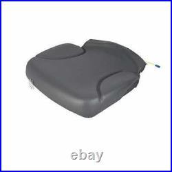 Seat Cushion Bottom Gray Vinyl Skid Steer fits Bobcat fits John Deere 240 320