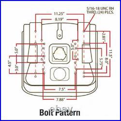 Seat Fits JD Fits John Deere X300 X300R X320 X340 X360 X500 X520 X530 Garden Tra