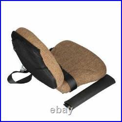 Seat Side Kick Fabric Brown fits John Deere 8100 8300 9400 8400 7720 8430 8200