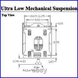 Seat Suspension Kit Fits John Deere Z915B ZTrak Zero Turn Mowers