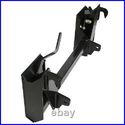 Steel Quick Tach Conversion Adapter Latch Fits Global John Deere To Skid Steer