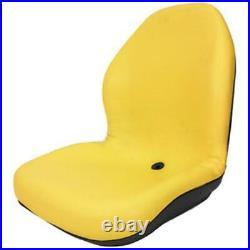 TCA13830 Yellow Seat Fits John Deere Tractor F910 F911 F925 F930 F932 F935 F1145