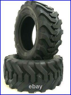 TWO 23X8.50-12 K9 R4 Fits Kubota, John Deere Tires Skid Steer Compact Tractor