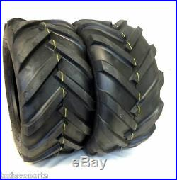 TWO 23/10.50x12, 23/10.50-12 Fits JOHN DEERE R1 Lawnmower Lug Gravely Climb Tire