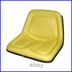TY15863 High Back Seat Fits John Deere 318 322 330 332 375 420 430 570 STX30 STX