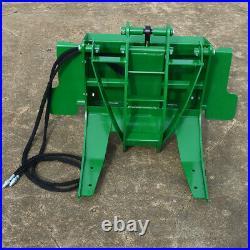 Titan 29 Hydraulic Log Grapple Attachment Fits John Deere Hook and Pin Tractors