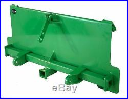Titan 3-Point Adapter Plate and Trailer Hitch, Made To Fit John Deere Hook and P