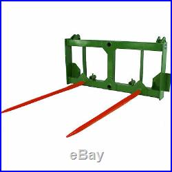 Titan 49 HD Hay Spear Attachment Stabilizers Fits John Deere 200 300 400