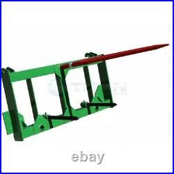 Titan 49 HD Hay Spear Attachment Stabilizers Fits John Deere 200 300 400 Series
