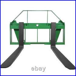 Titan Attachments 60 Pallet Fork Attachment fits John Deere Global Euro Loaders
