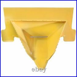 Titan Attachments Stump Bucket Fits John Deere Yellow