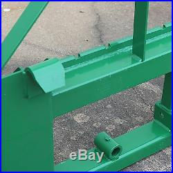 Titan Pallet Fork Frame Fits John Deere2 HitchSpear SleevesHeadache Rack