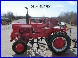 To fit Farmall International IH Tractor Seat cushion set grey 140 Cub