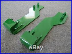 Tractor Loader Quick Tach Weld On Mounting Brackets Fits John Deere Free Ship