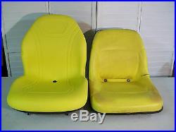 YELLOW ULTRA HIGH BACK DELUXE SEAT fits John Deere 445 455 4010 AM117489 #DD