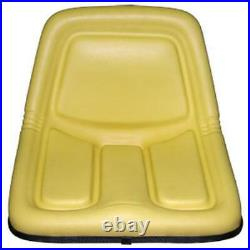 Yellow Seat Fits John Deere 130 160 165 214 316 318 322 330 332 420 STX38 Mowers
