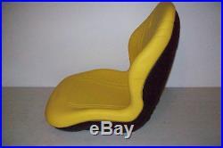 Yellow Seat Fits John Deere 4200,4300,4400,4500,4600,4700 Jd Compact Tractor #df