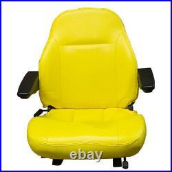 Yellow Seat Fits John Deere F620 F680 F687 717A 727A 737 757 Z Trak ZTR Mower