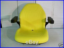 Yellow Seat Fits John Deere X534, X540, X584, X590, X750, X754, X758 Mowers #mk