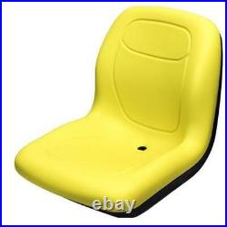 Yellow Seat for Compact Fits John Deere Tractors 670 770 790 870 990 1070 4005