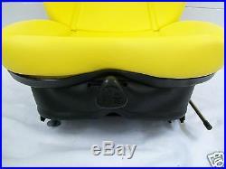 Yellow Suspension Seat Fits John Deere 737, 757, 777 Zero Turn Mowers #hd